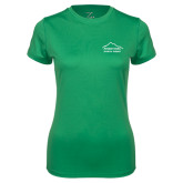 Ladies Syntrel Performance Kelly Green Tee-Physical Therapy