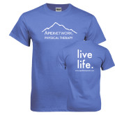 Arctic Blue T Shirt-Fitness Center