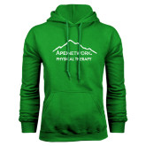 Kelly Green Fleece Hoodie-Physical Therapy