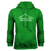 Kelly Green Fleece Hoodie-Fitness Center