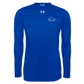 Under Armour Royal Long Sleeve Tech Tee-Physical Therapy