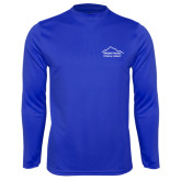 Syntrel Performance Royal Longsleeve Shirt-Physical Therapy