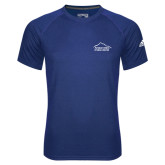Adidas Climalite Royal Ultimate Performance Tee-Fitness Center