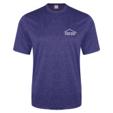 Performance Royal Heather Contender Tee-Fitness Center