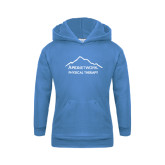 Youth Light Blue Fleece Hoodie-Physical Therapy