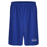Russell Performance Royal 9 Inch Short w/Pockets-Fitness Center
