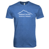 Next Level Vintage Royal Tri Blend Crew-Physical Therapy