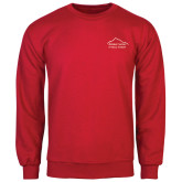 Red Fleece Crew-Physical Therapy