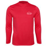 Performance Red Longsleeve Shirt-Physical Therapy