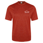 Performance Red Heather Contender Tee-Physical Therapy