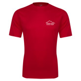 Performance Red Tee-Physical Therapy