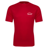 Performance Red Tee-Fitness Center