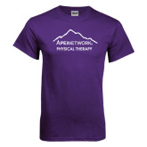 Purple T Shirt-Physical Therapy