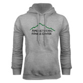 Grey Fleece Hoodie-Fitness Center
