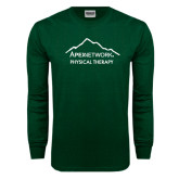 Dark Green Long Sleeve T Shirt-Physical Therapy