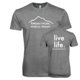 Next Level Premium Heather Tri Blend Crew-Physical Therapy