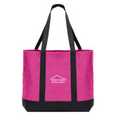 Tropical Pink/Dark Charcoal Day Tote-Physical Therapy