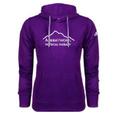 Adidas Climawarm Purple Team Issue Hoodie-Physical Therapy