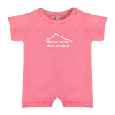 Bubble Gum Pink Infant Romper-Physical Therapy