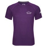 Adidas Climalite Purple Ultimate Performance Tee-Physical Therapy