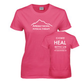 Ladies Fuchsia T Shirt-Physical Therapy