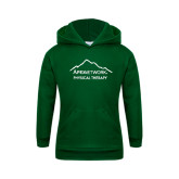 Youth Dark Green Fleece Hoodie-Physical Therapy