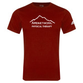 Adidas Cardinal Logo T Shirt-Physical Therapy