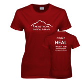Ladies Cardinal T Shirt-Physical Therapy