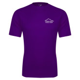 Performance Purple Tee-Physical Therapy