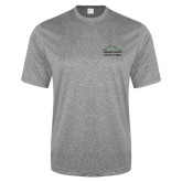 Performance Grey Heather Contender Tee-Physical Therapy