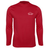 Performance Cardinal Longsleeve Shirt-Physical Therapy
