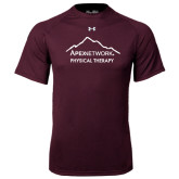 Under Armour Maroon Tech Tee-Physical Therapy