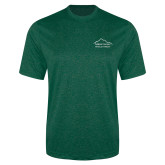 Performance Dark Green Heather Contender Tee-Physical Therapy