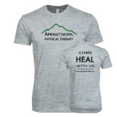 Next Level SoftStyle Heather Grey T Shirt-Physical Therapy