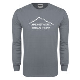 Charcoal Long Sleeve T Shirt-Physical Therapy