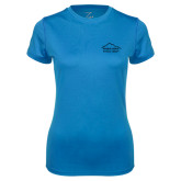Ladies Syntrel Performance Light Blue Tee-Physical Therapy