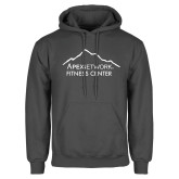 Charcoal Fleece Hoodie-Fitness Center