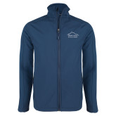 Navy Softshell Jacket-Physical Therapy