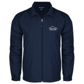 Full Zip Navy Wind Jacket-Physical Therapy