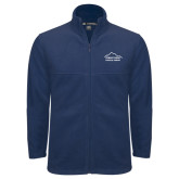 Fleece Full Zip Navy Jacket-Physical Therapy