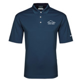 Nike Golf Dri Fit Navy Micro Pique Polo-Physical Therapy