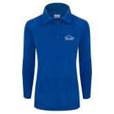 Columbia Ladies Half Zip Royal Fleece Jacket-Physical Therapy