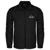 Full Zip Black Wind Jacket-Physical Therapy