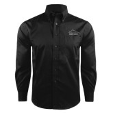 Red House Black Herringbone Long Sleeve Shirt-Physical Therapy