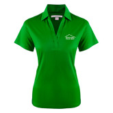 Ladies Kelly Green Performance Fine Jacquard Polo-Physical Therapy
