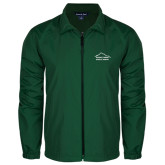 Full Zip Dark Green Wind Jacket-Physical Therapy