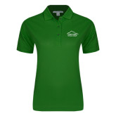 Ladies Easycare Kelly Green Pique Polo-Physical Therapy