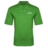 Kelly Green Performance Fine Jacquard Polo-Physical Therapy
