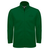 Fleece Full Zip Dark Green Jacket-Physical Therapy