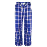 Royal/White Flannel Pajama Pant-Physical Therapy